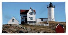 The Nubble Light House  Beach Sheet