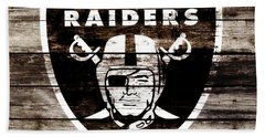 The Oakland Raiders 3c	 Beach Towel by Brian Reaves