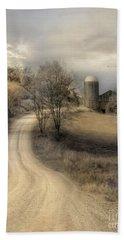 The Old Farm Beach Sheet by Lori Deiter