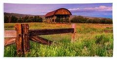 The Old Hay Barn Beach Sheet