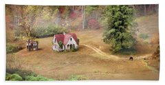 The Old Homestead Beach Towel by Lori Deiter