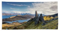The Old Man Of Storr Beach Sheet