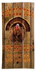 The Old Tom Hunting Club No. 2 Beach Towel by TL Mair