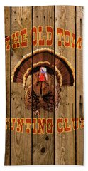 The Old Tom Hunting Club No. 3 Beach Towel by TL Mair