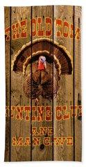 The Old Tom Hunting Club Beach Towel