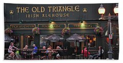 The Old Triangle Alehouse Beach Sheet