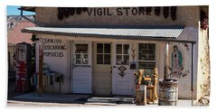 Old Vigil Store In Chimayo Beach Sheet