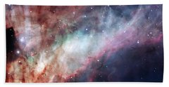 Beach Towel featuring the photograph The Omega Nebula by Eso