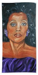 The One And Only Diana Ross Beach Towel