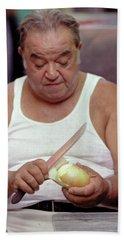 The Onion Man Beach Towel