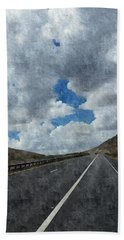 The Open Road Beach Towel