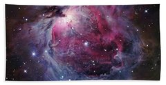 The Orion Nebula Beach Towel