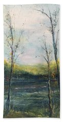 The Ouachita Beach Towel by Robin Miller-Bookhout