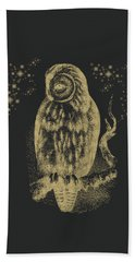 The Owl Beach Towel