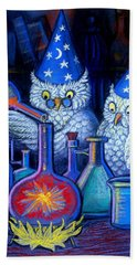 The Owl Chemists Beach Sheet