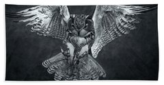 The Owl 2 Beach Towel