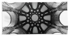 The Palace Of Fine Arts Dome Beach Towel