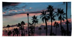 The Palms Beach Sheet by Ralph Vazquez