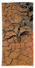 The Parched Earth Beach Towel