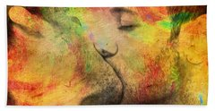 The Passion Of A Kiss 1 Beach Towel