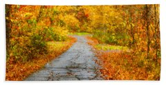 The Path Beach Towel by Darren Fisher