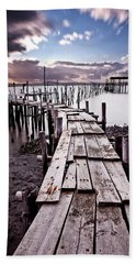 Beach Sheet featuring the photograph The Path by Jorge Maia