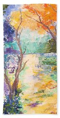 The Path Beach Towel