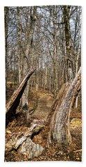 The Path Through The Woods Beach Sheet