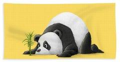 The Patient Panda Beach Towel
