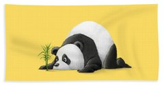 The Patient Panda Beach Towel