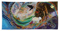 The Patriarchs Series - Ark Of Noah Beach Towel