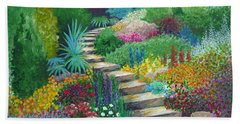 The Peaceful Path Beach Towel