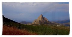 The Pena De Bernal Beach Towel