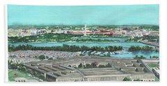 The Pentagon Beach Sheet