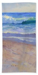 The Healing Pacific Beach Towel