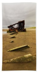 The Peter Iredale Beach Towel