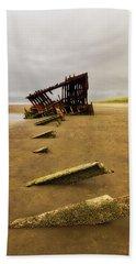 The Peter Iredale Beach Towel by Rick Furmanek