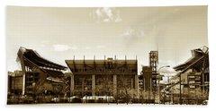 The Philadelphia Eagles - Lincoln Financial Field Beach Towel