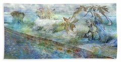 The Piano  Beach Towel by Betsy Knapp
