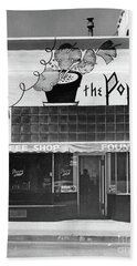 The Poppy, Coffee Shop, Fountain, Alvarado Street, Monterey Circ Beach Towel