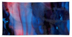 The Potential Within - Squared 1 - Triptych Beach Towel