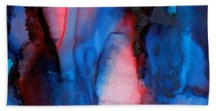The Potential Within - Squared 2 - Tryptich Beach Towel