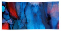The Potential Within - Squared 3 - Triptych Beach Towel