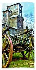 The Pottery - Bennington, Vt Beach Sheet by Tom Cameron