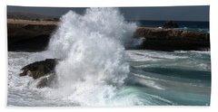 The Power Of The Sea Beach Sheet