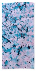 The Pretty Blooming Beach Towel