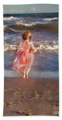 The Princess And The Sea Beach Towel