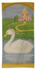 The Princess Swan Beach Towel
