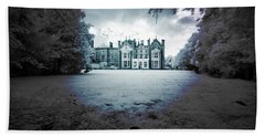 Beach Towel featuring the photograph The Priory  by Keith Elliott