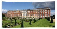 The Privy Garden Hampton Court Beach Towel